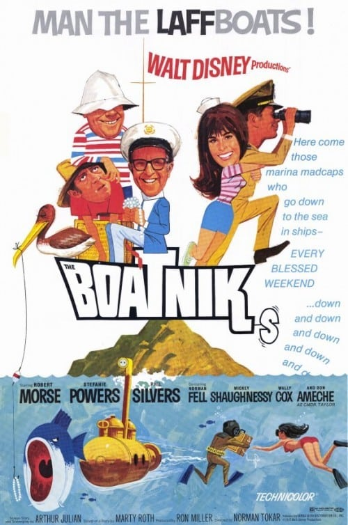 Movie poster of The Boatniks