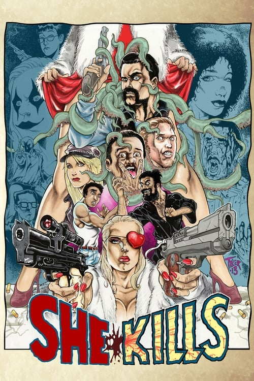 Movie poster of She Kills