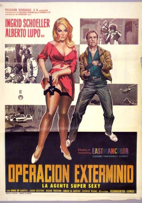 Filmplakat von 008: Operation Exterminate