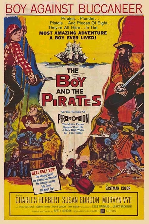 Movie poster of The Boy and the Pirates