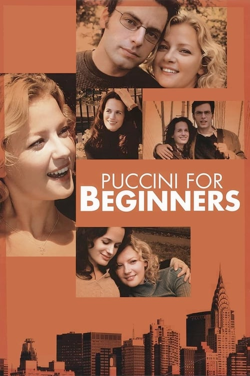 Movie poster of Puccini for Beginners