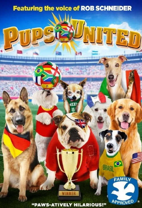 Movie poster of Pups United