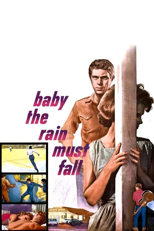 Movie poster of Baby the Rain Must Fall