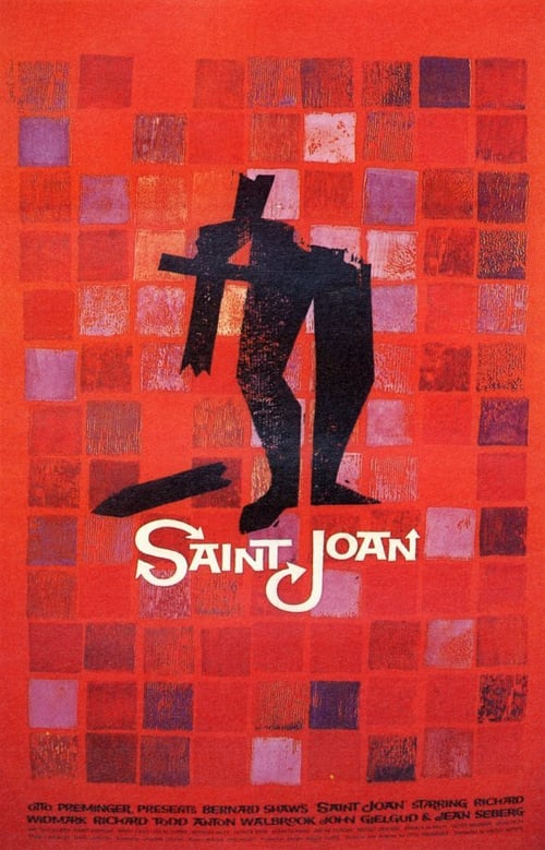 Movie poster of Saint Joan