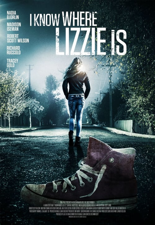 Movie poster of I Know Where Lizzie Is