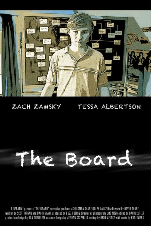 Movie poster of The Board