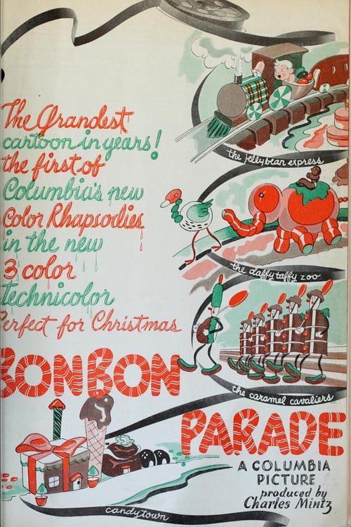Movie poster of The Bon Bon Parade