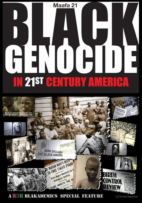 Movie poster of Maafa 21: Black Genocide in the 21st Century