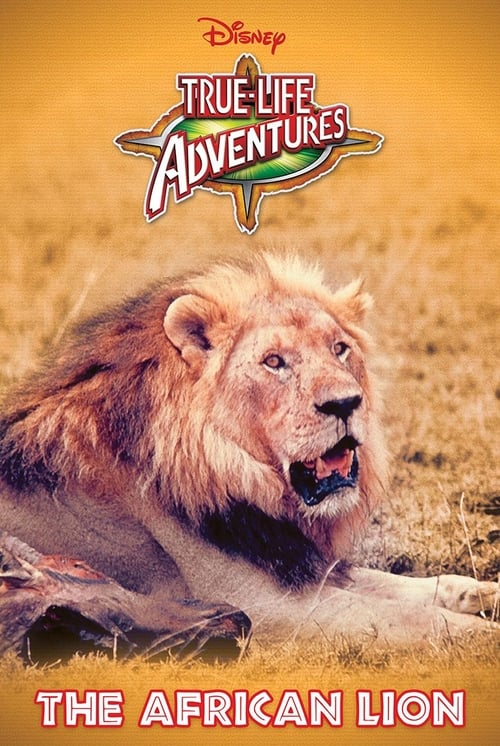 Movie poster of The African Lion