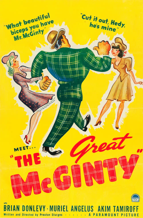 Movie poster of The Great McGinty