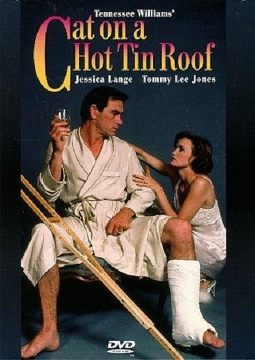Movie poster of Cat on a Hot Tin Roof