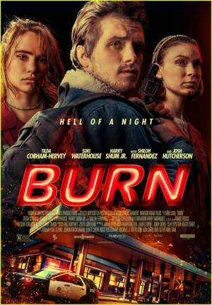Movie poster of Burn
