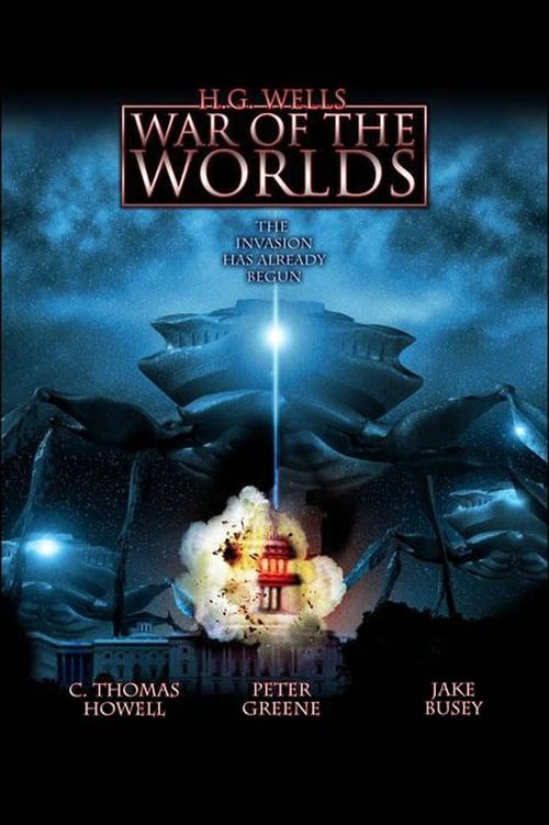 Movie poster of H.G. Wells' War of the Worlds