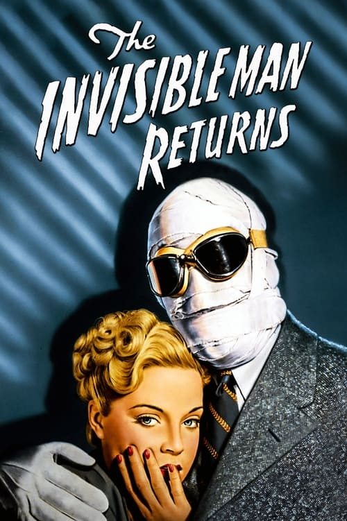 Movie poster of The Invisible Man Returns