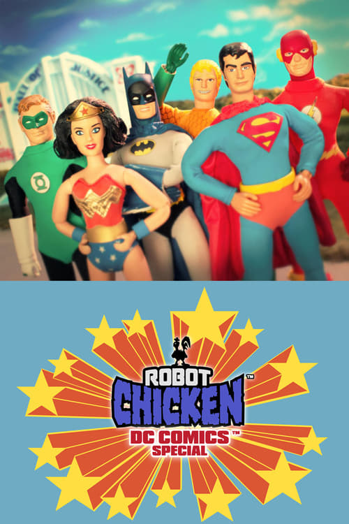 Movie poster of Robot Chicken DC Comics Special III: Magical Friendship