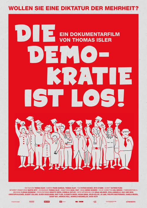 Movie poster of Die Demokratie ist los!