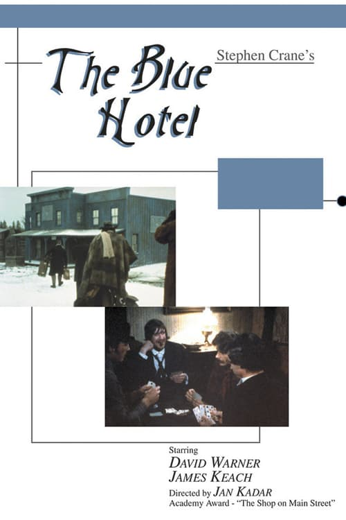 Movie poster of The Blue Hotel
