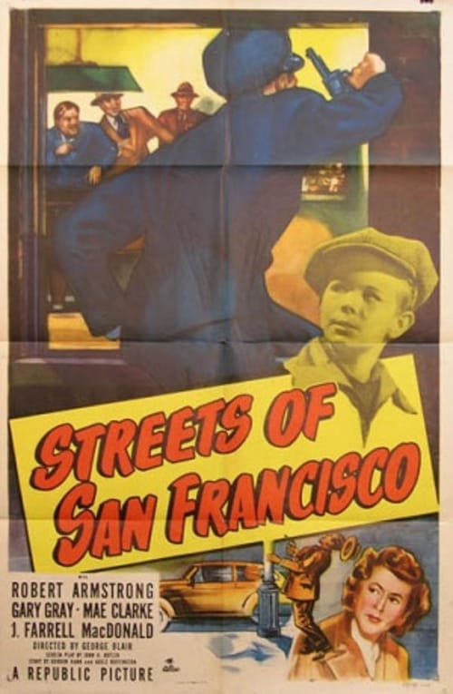 Movie poster of Streets of San Francisco