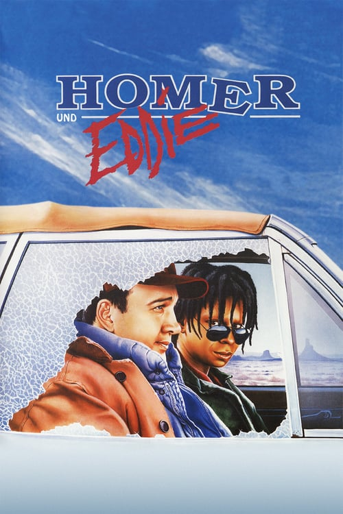Movie poster of Homer and Eddie