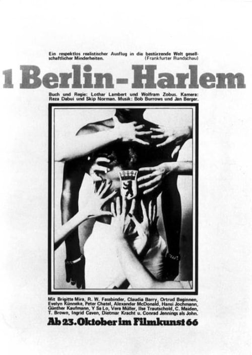 Movie poster of 1 Berlin-Harlem