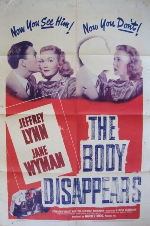 Filmplakat von The Body Disappears
