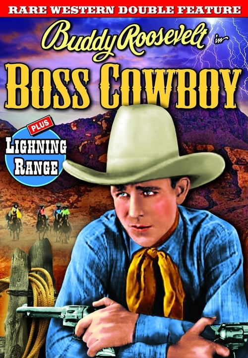 Movie poster of The Boss Cowboy