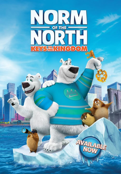 Movie poster of Norm of the North: Keys to the Kingdom