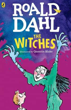 Movie poster of Roald Dahl's The Witches