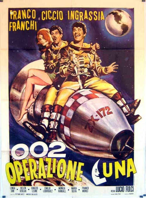 Filmplakat von 002 Operation Moon