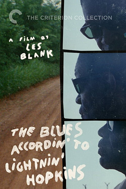 Movie poster of The Blues Accordin' to Lightnin' Hopkins