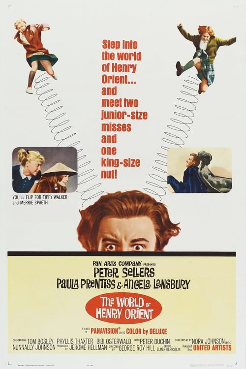 Movie poster of The World of Henry Orient