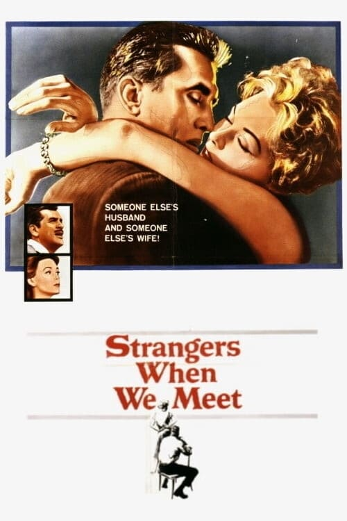 Movie poster of Strangers When We Meet