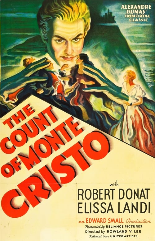 Movie poster of The Count of Monte Cristo