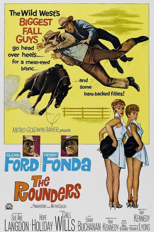 Movie poster of The Rounders