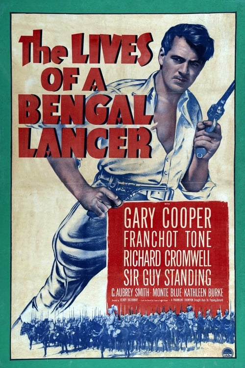 Movie poster of The Lives of a Bengal Lancer