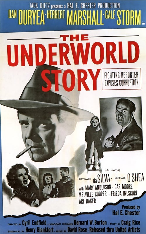 Movie poster of The Underworld Story