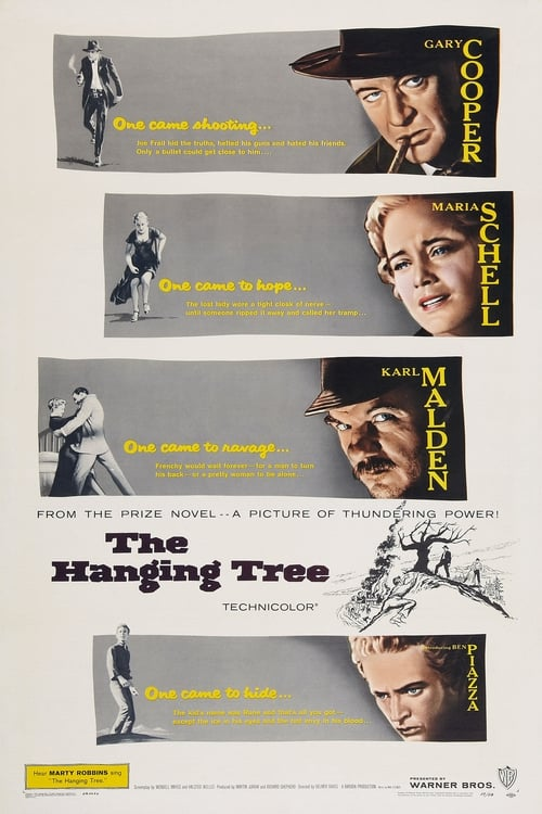 Movie poster of The Hanging Tree