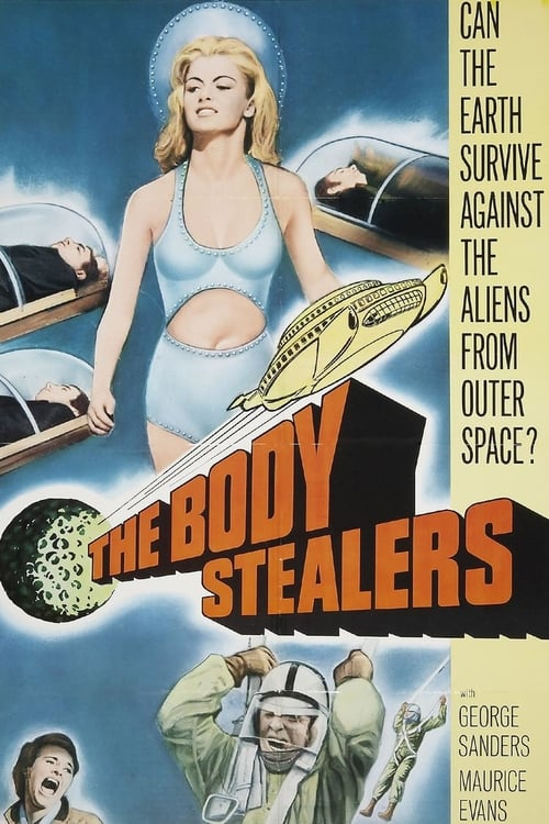 Movie poster of The Body Stealers
