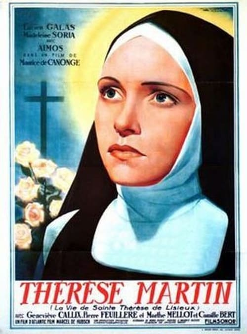 Movie poster of Saint Theresa of Lisieux