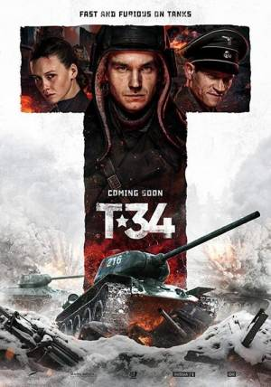 Movie poster of T-34
