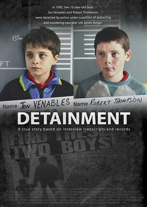 Movie poster of Detainment