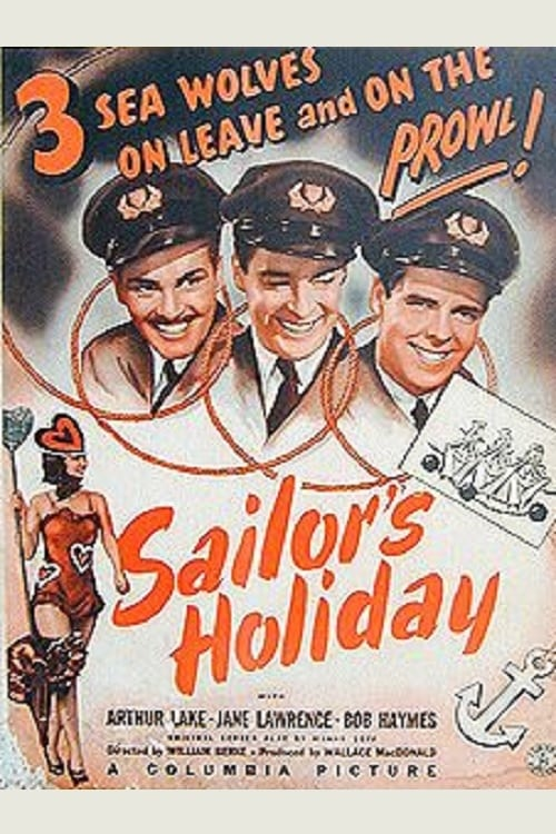 Filmplakat von Sailor's Holiday