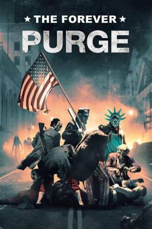 Movie poster of The Forever Purge