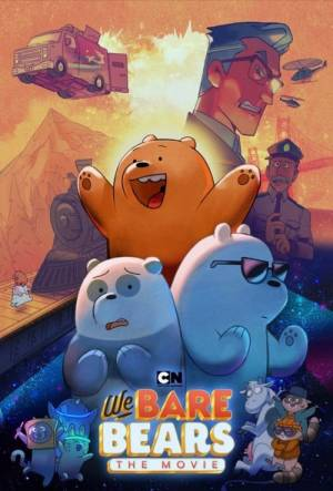 Movie poster of We Bare Bears: The Movie