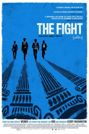 Movie poster of The Fight