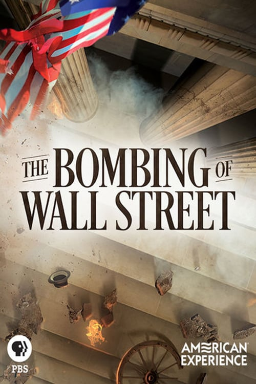Movie poster of The Bombing of Wall Street