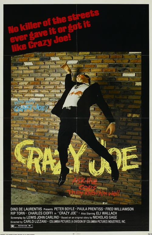 Movie poster of Crazy Joe