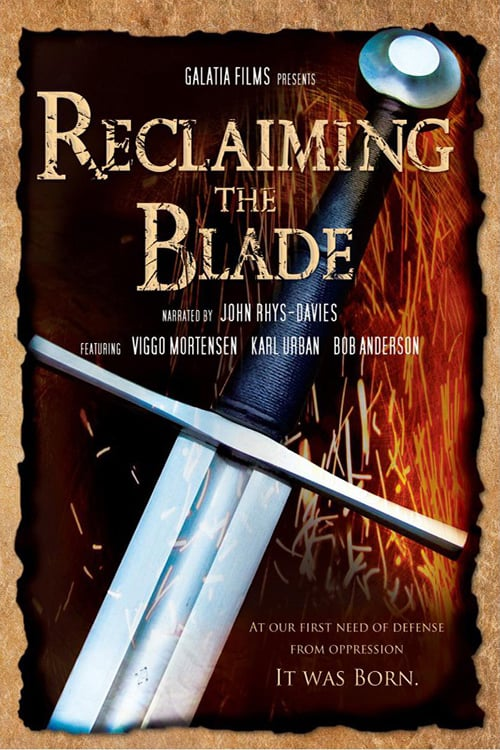 Movie poster of Reclaiming the Blade