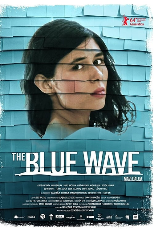 Movie poster of The Blue Wave
