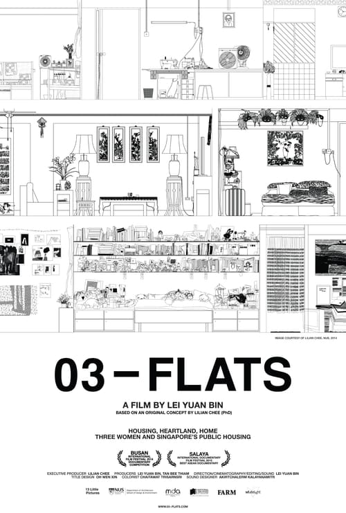Movie poster of 03-Flats